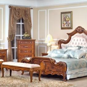 спальня в классическом стиле виды идеи