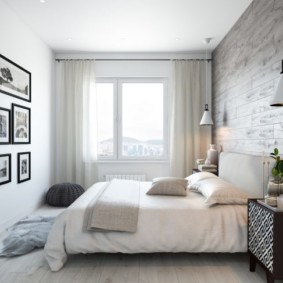 спальня в скандинавском стиле фото виды