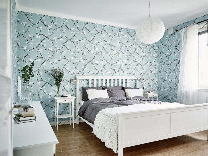 спальня в скандинавском стиле идеи декора
