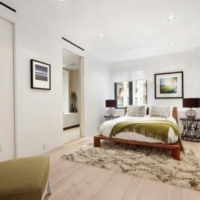 спальня в скандинавском стиле интерьер фото
