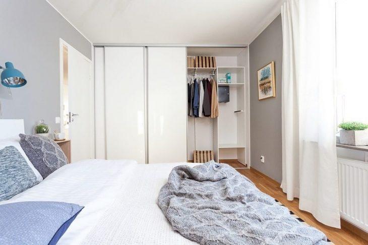 спальня в скандинавском стиле оформление идеи