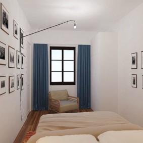 спальня в скандинавском стиле варианты фото