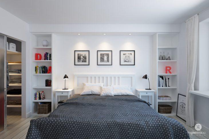 спальня в скандинавском стиле виды фото