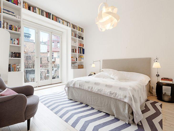 спальня в скандинавском стиле виды