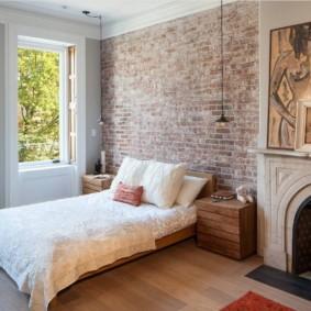 спальня в стиле лофт фото идеи
