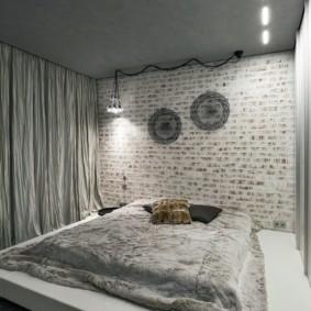 спальня в стиле лофт идеи вариантов