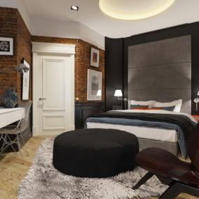 спальня в стиле лофт идеи виды