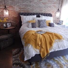 спальня в стиле лофт виды идеи