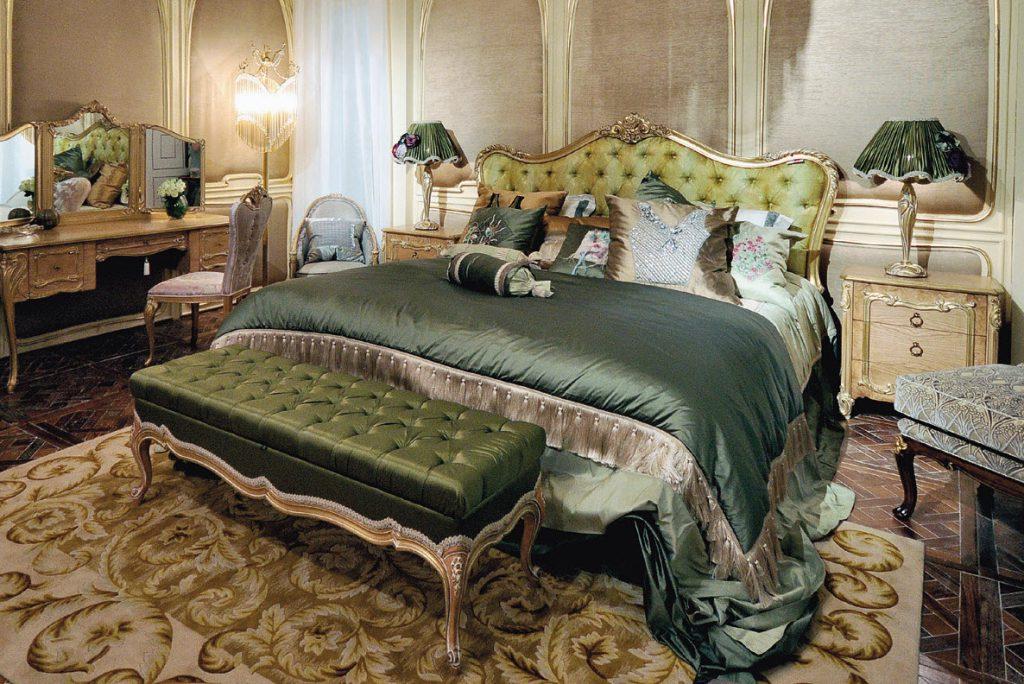 спальня в зеленых тонах варианты фото