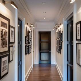 стены в прихожей фото декора