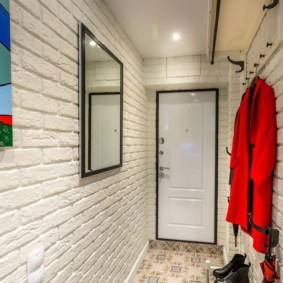 стены в прихожей фото оформления