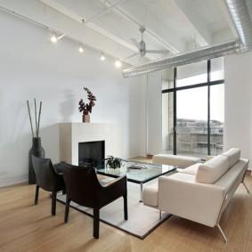 гостиная в стиле минимализм декор фото