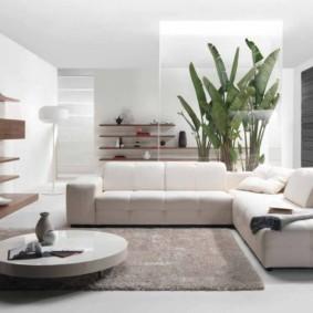 гостиная в стиле минимализм фото дизайн