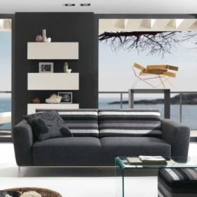 гостиная в стиле минимализм фото оформление