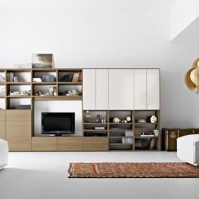 гостиная в стиле минимализм фото вариантов