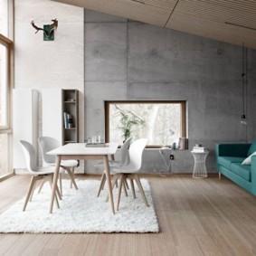 гостиная в стиле минимализм фото варианты
