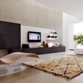 гостиная в стиле минимализм фото видов