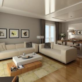 гостиная в стиле минимализм идеи декора