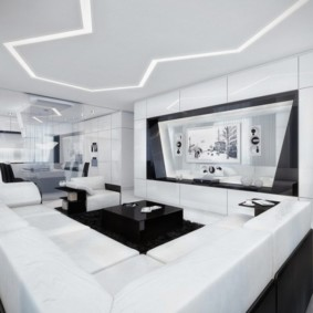 гостиная в стиле минимализм идеи вариантов