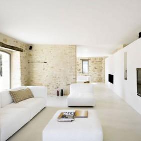 гостиная в стиле минимализм интерьер идеи