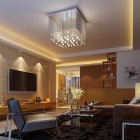 гостиная в стиле минимализм оформление фото