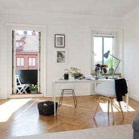 гостиная в стиле минимализм варианты