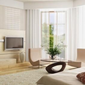 гостиная в стиле минимализм варианты фото