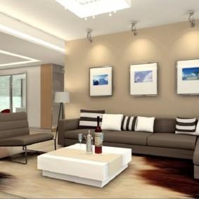 гостиная в стиле минимализм варианты идеи