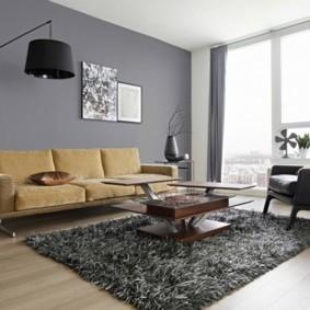 гостиная в стиле минимализм виды фото