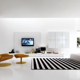гостиная в стиле минимализм виды идеи