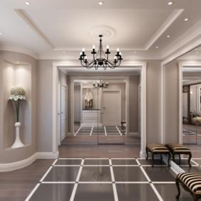стиль неоклассика в интерьере квартиры декор идеи