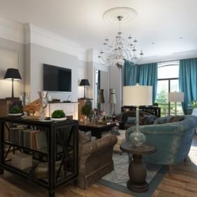 стиль неоклассика в интерьере квартиры дизайн