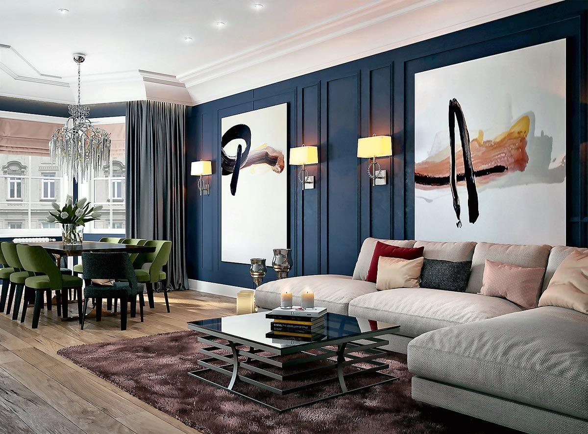 стиль неоклассика в интерьере квартиры дизайн фото