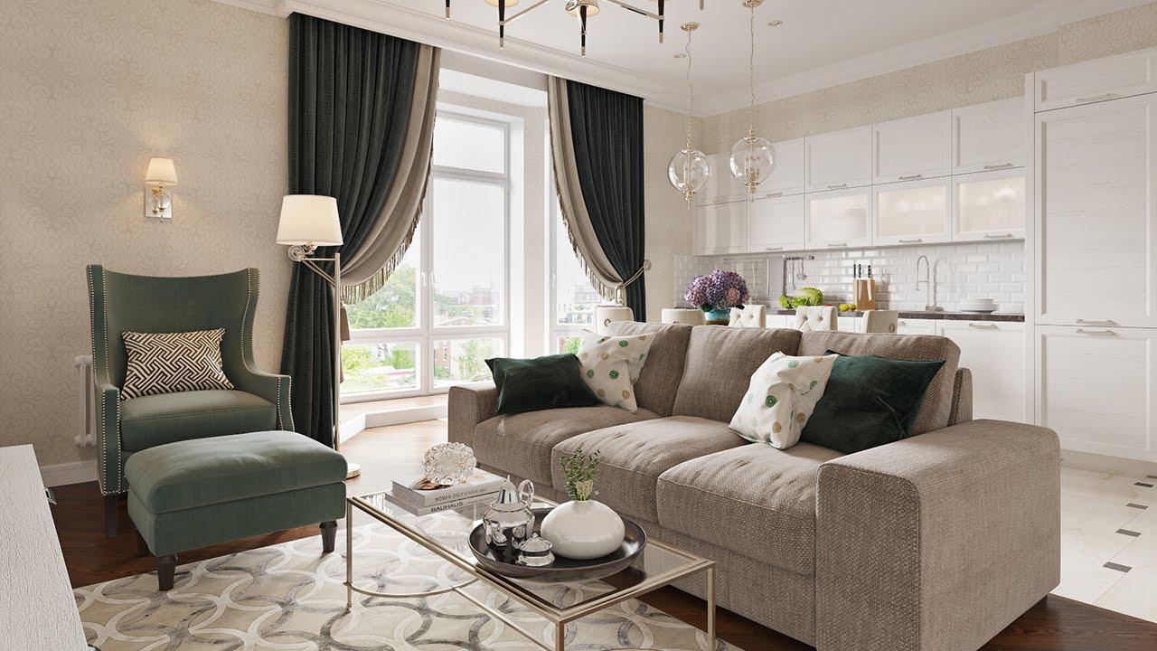 стиль неоклассика в интерьере квартиры дизайн идеи
