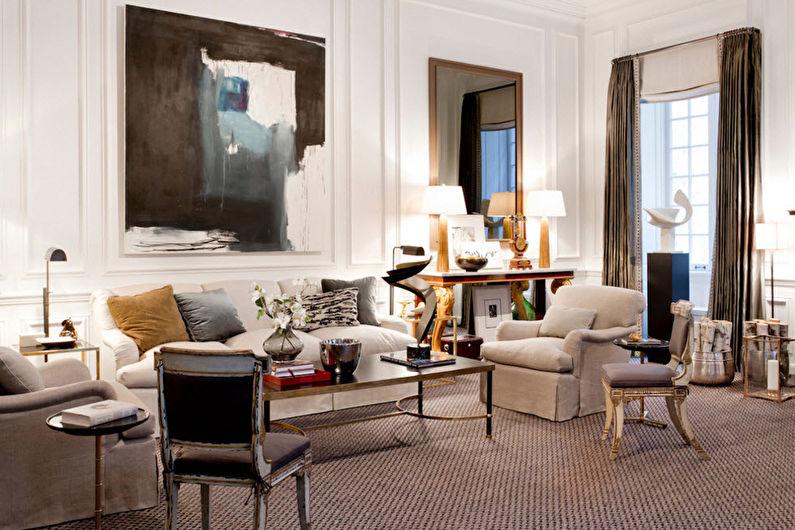 стиль неоклассика в интерьере квартиры фото оформления