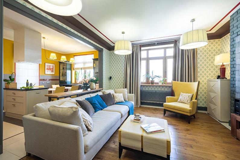стиль неоклассика в интерьере квартиры фото варианты