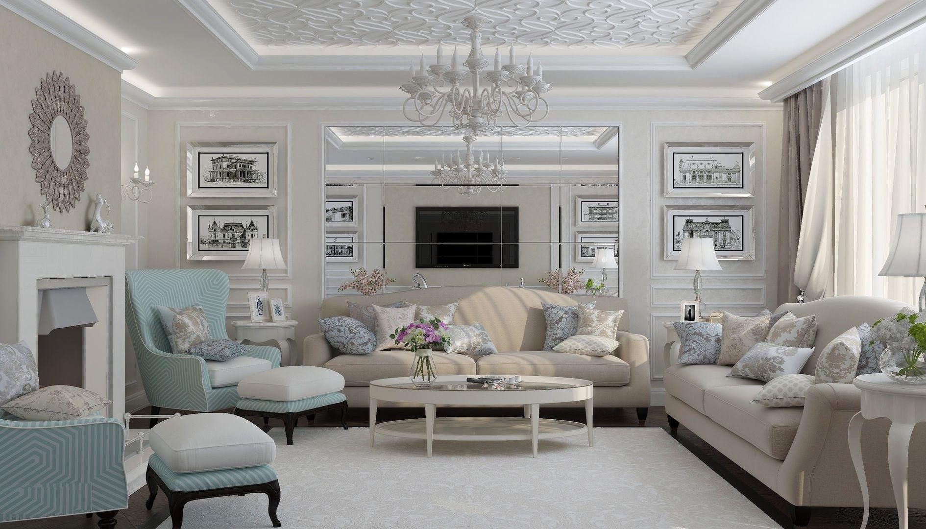стиль неоклассика в интерьере квартиры идеи фото