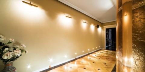 светильники в прихожей фото виды