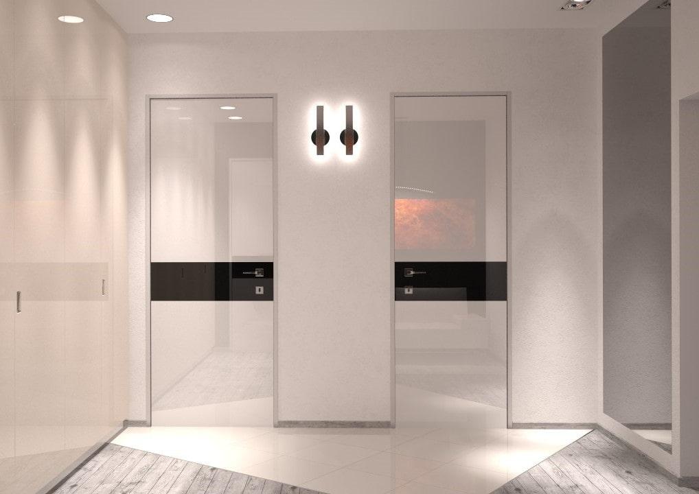 светлые двери в квартире виды дизайна