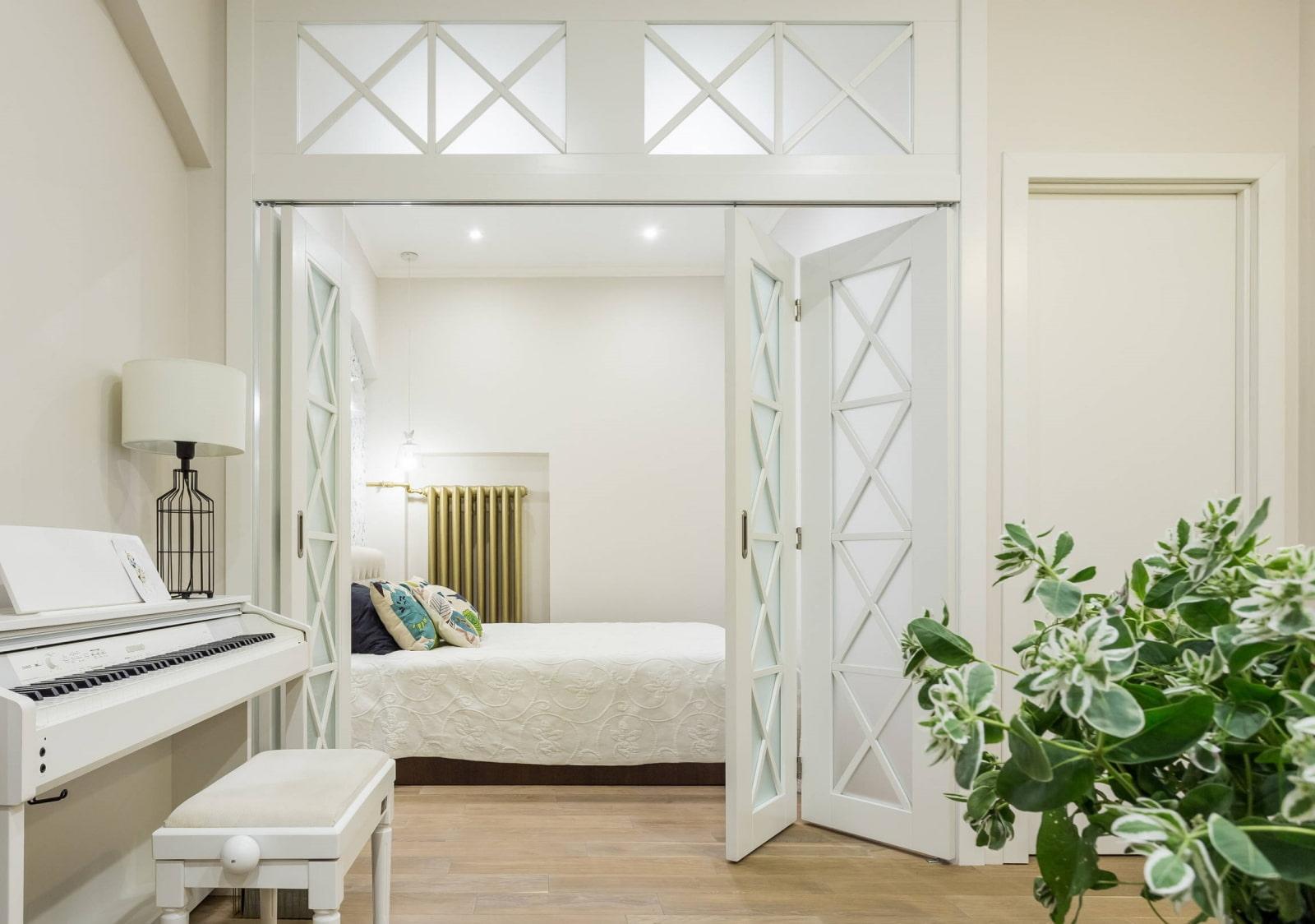 светлые двери в квартире фото дизайн