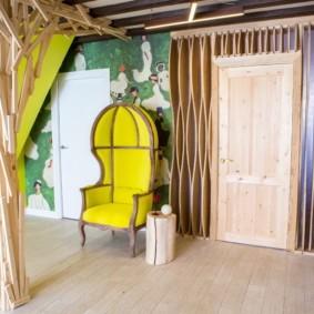 светлые двери в квартире идеи дизайн