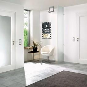 светлые двери в квартире идеи вариантов
