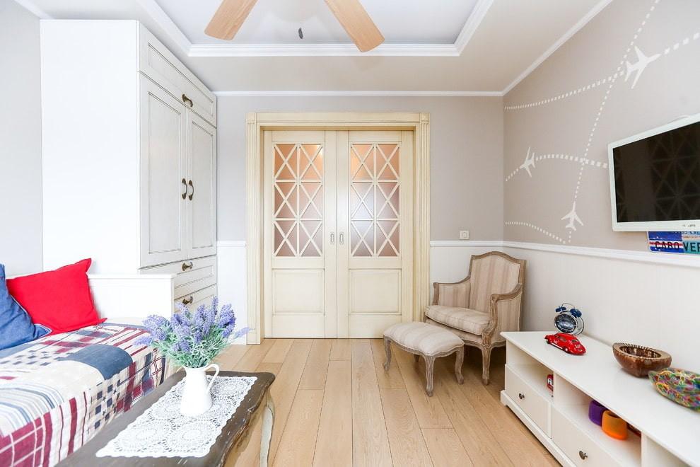светлые двери в квартире варианты идеи