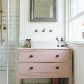 тумба для ванной фото оформление