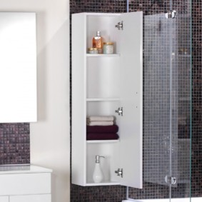 тумба для ванной интерьер фото