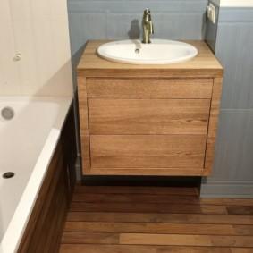 тумба для ванной варианты фото