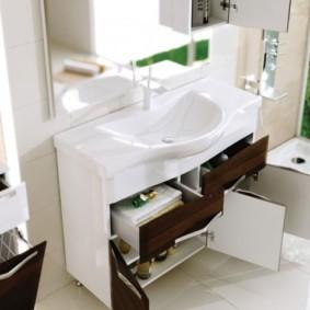 тумба для ванной дизайн