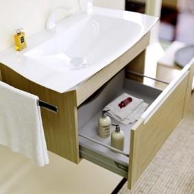 тумба для ванной дизайн фото