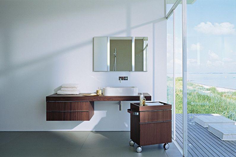 тумба для ванной фото декор