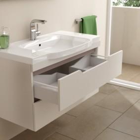 тумба для ванной фото декора